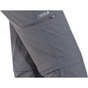 Regatta Xert II Pantalon Stretch zippé Normal Homme, seal grey